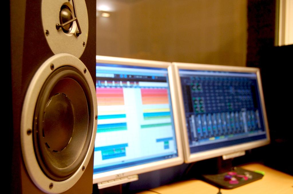 estudio de grabación